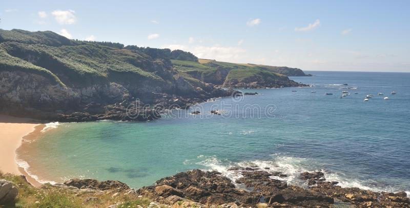 Download ROCKY COAST IN BRITTANY, FRANCE Stock Image - Image: 32868917