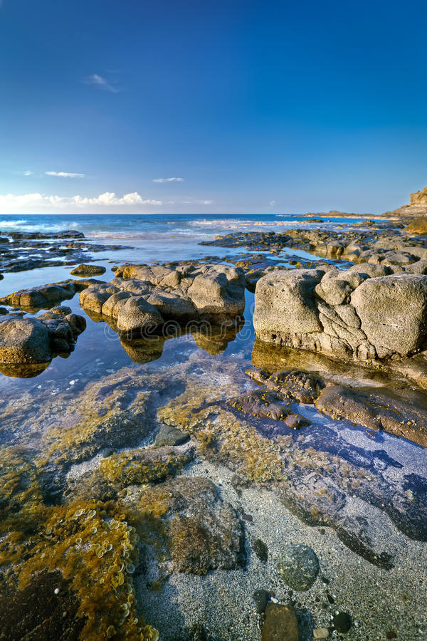 Download Rocky coastline stock photo. Image of rock, shoreline - 23162426