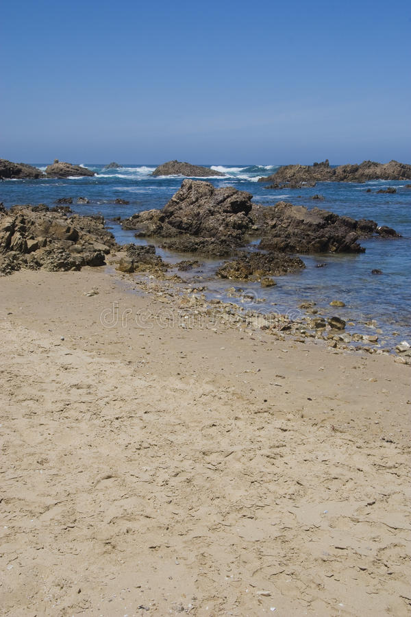 Download Rocky Coastline Of South Africa Stock Photography - Image: 13063302