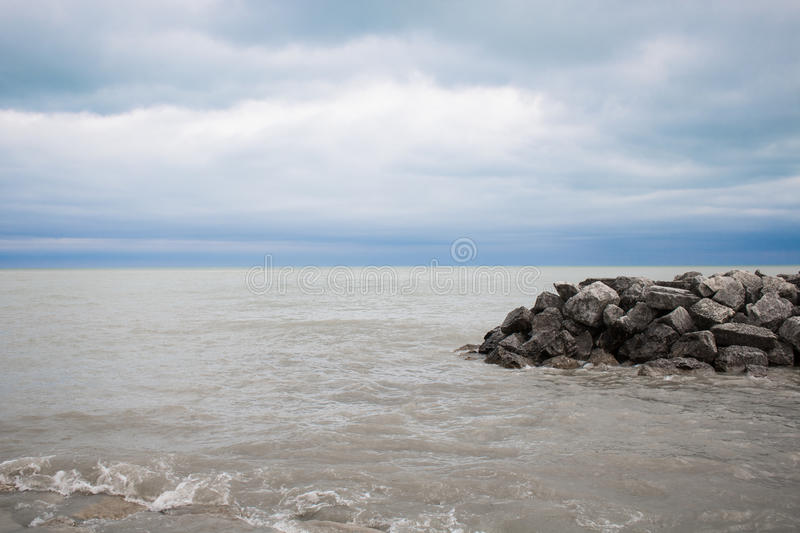 Rocky Coastline With Waves Free Public Domain Cc0 Image
