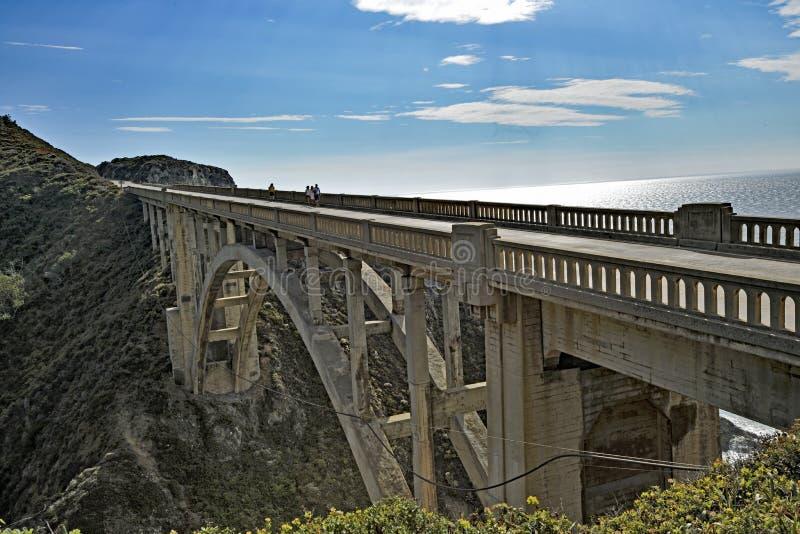 The Rocky Creek Bridge stock images