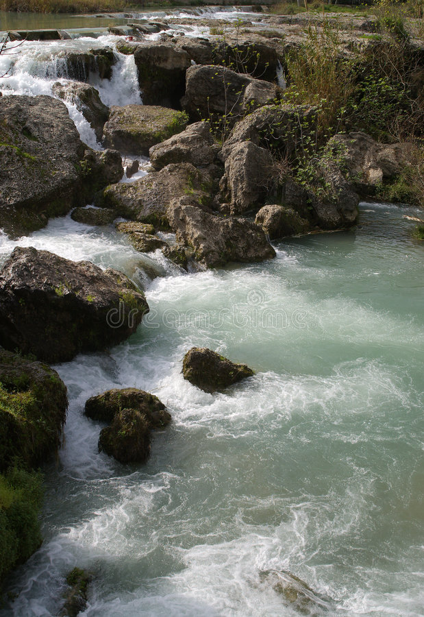 Rocky Falls stock photo
