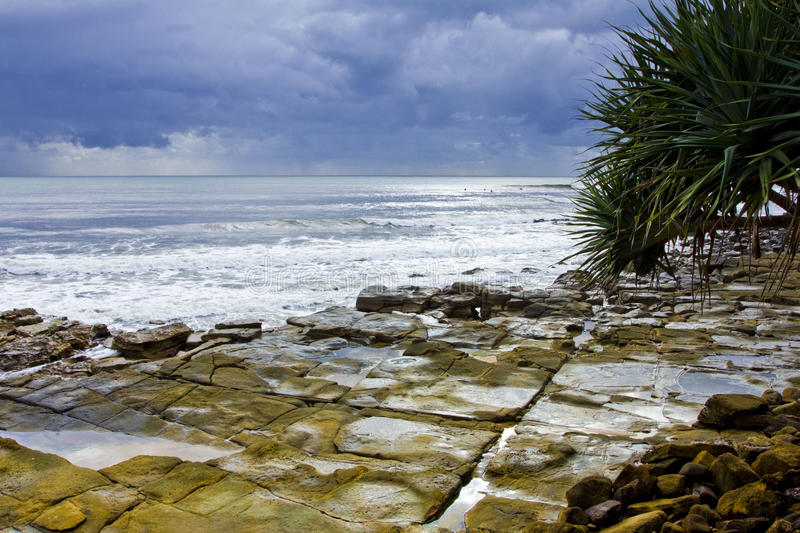 Download Rocky Headland Stormy stock image. Image of headland - 19356229