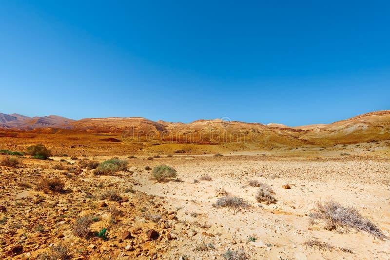 Rocky Hills. Of the Negev Desert in Israel stock photo