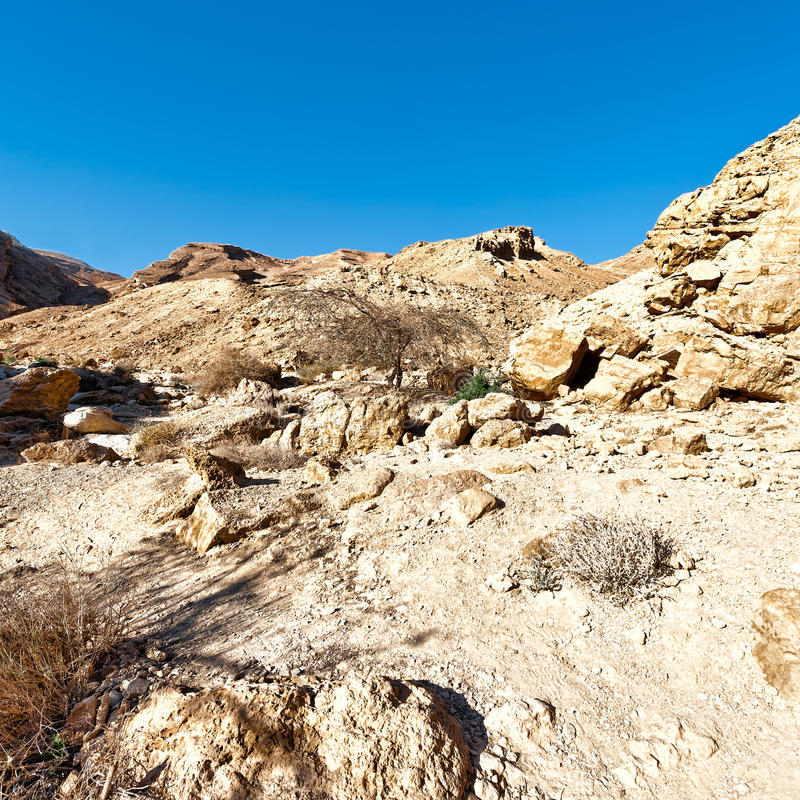 Rocky Hills stock image