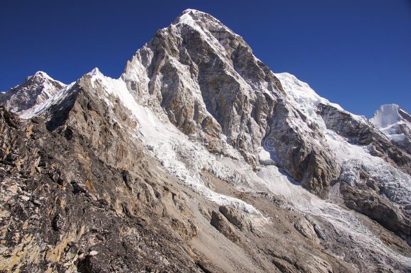 Rocky Himalayan Peak stock photos