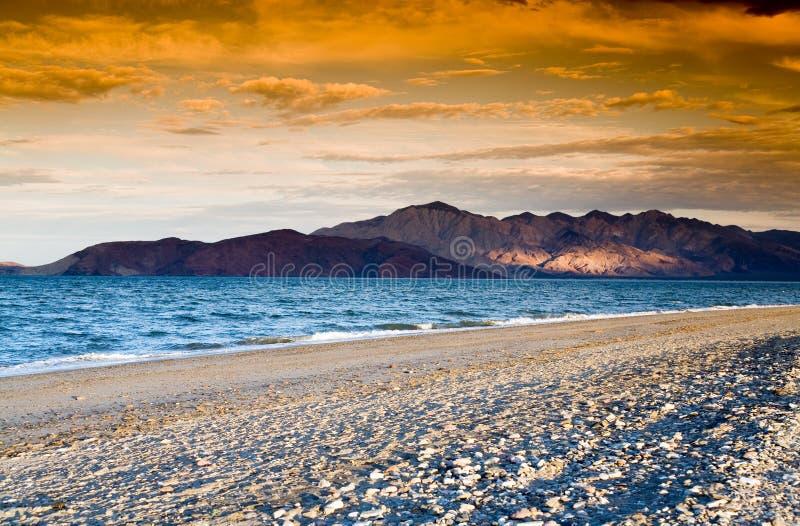 Rocky island royalty free stock photo