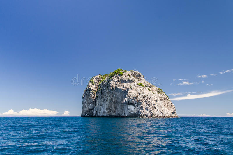 Rocky island. Of the Mitsio archipelago near Nosy Be in northern Madagascar royalty free stock photography