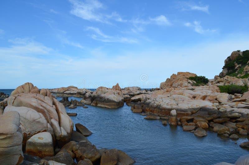 Rocky Island imagem de stock royalty free
