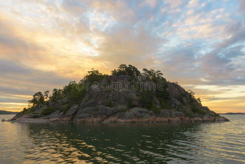 Rocky Island stock afbeeldingen