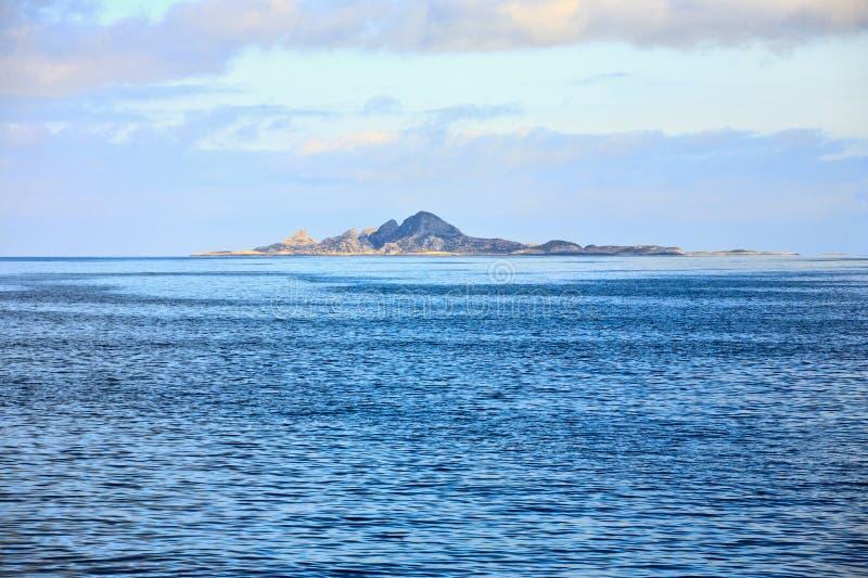 Rocky Island royalty-vrije stock afbeelding