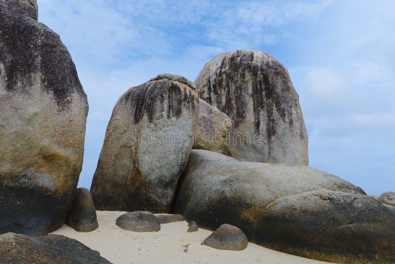 Rocky Island Belitung Indonesia fotografia de stock royalty free