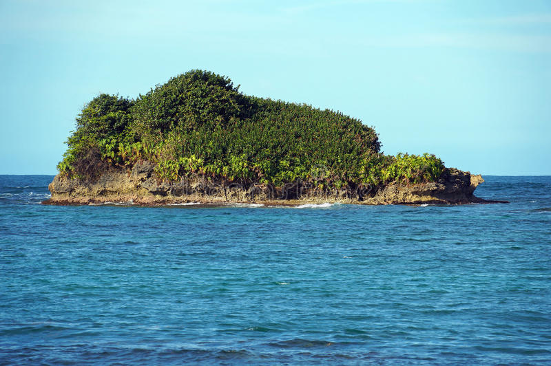 Download Rocky Island Covered By Tropical Vegetation Stock Image - Image: 31081011