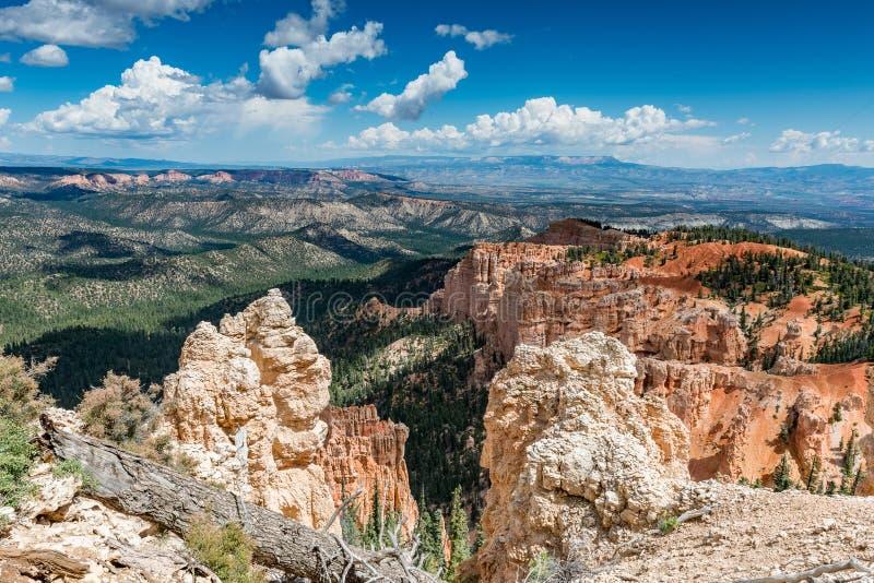 Rocky Landscape em Bryce Canyon fotos de stock