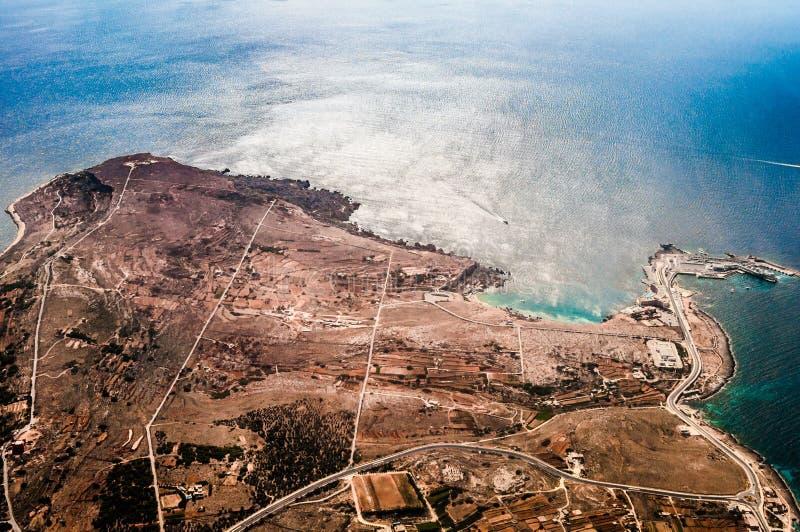 Rocky landscape in Malta island. Rocky landscape in island Malta stock photography