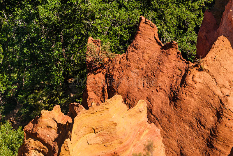 Rocky landscape royalty free stock photos