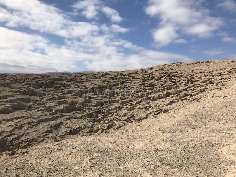 Rocky landscape. Of San Miguel de Tajao in Tenerife royalty free stock photo