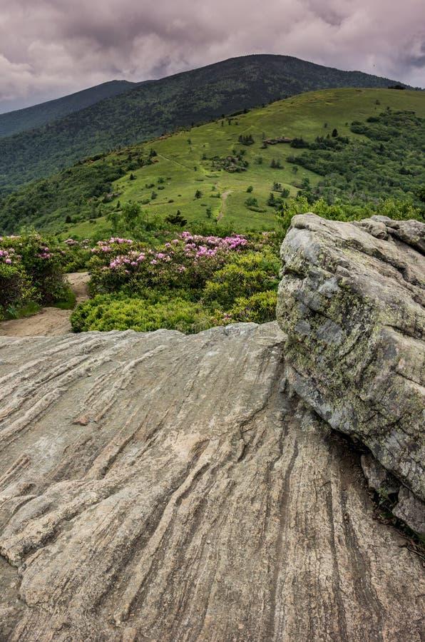 Rocky Lookout chez Jane Bald photo stock