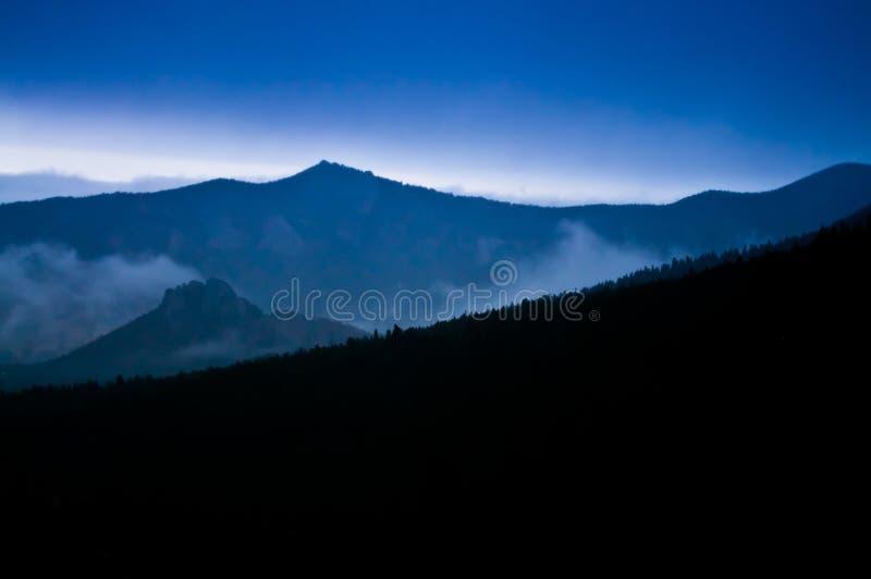 Rocky Morning Twilight Royalty Free Stock Photo
