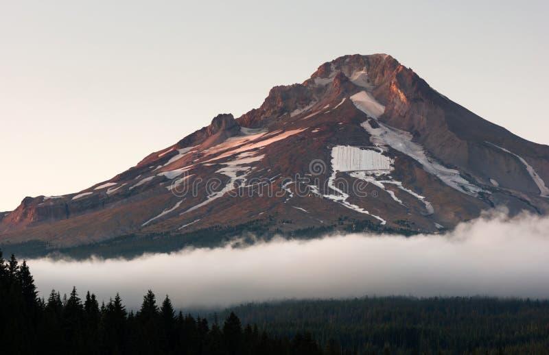 Rocky Mount Hood Timberline Man dentado hizo a Ski Area imágenes de archivo libres de regalías