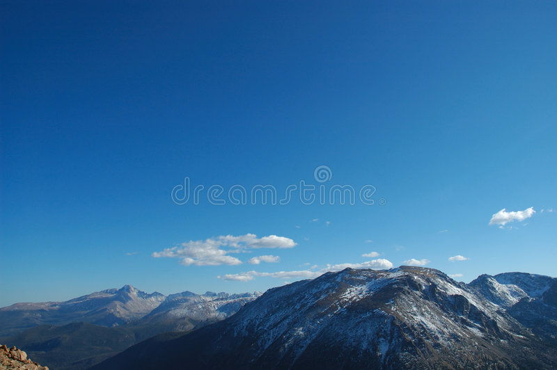 rocky mountain obraz stock