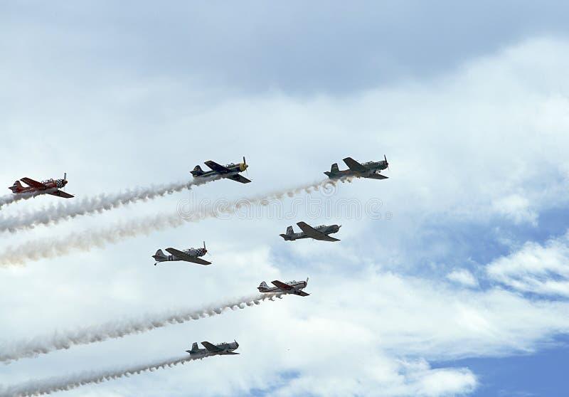 Rocky Mountain Airshow fotos de stock