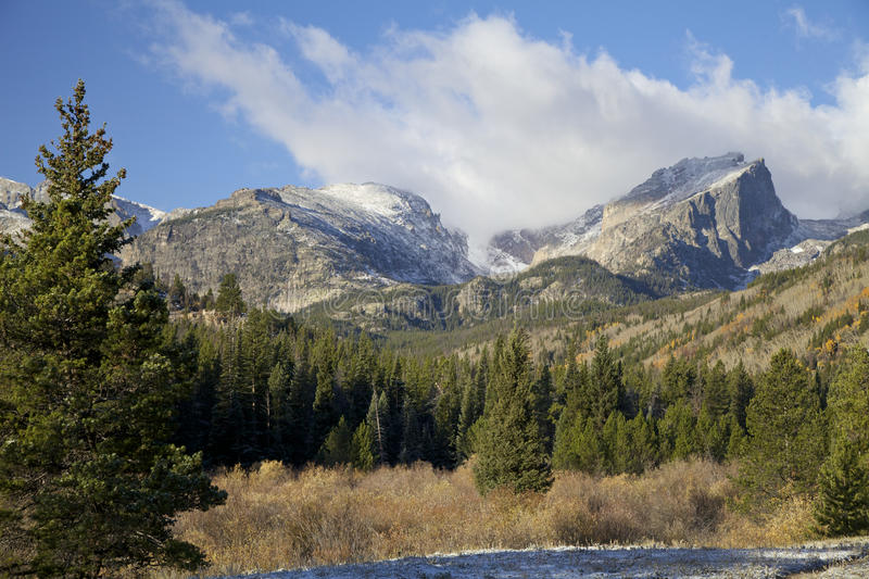Download Rocky Mountain in Fall stock photo. Image of scenic, foliage - 27694038