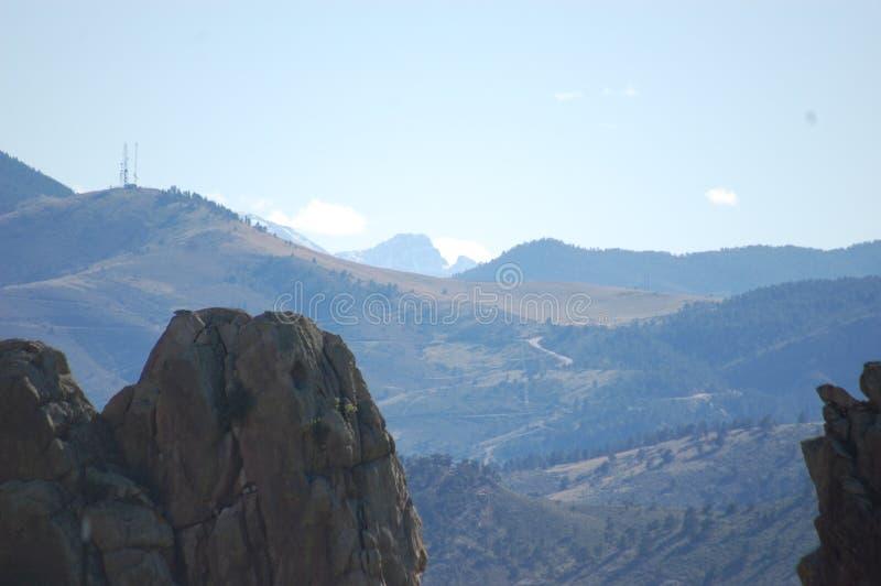 Rocky Mountain Foothills arkivfoton