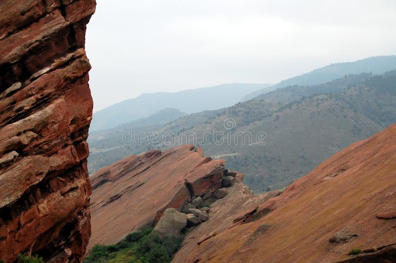 Rocky Mountain Foothills royaltyfria foton