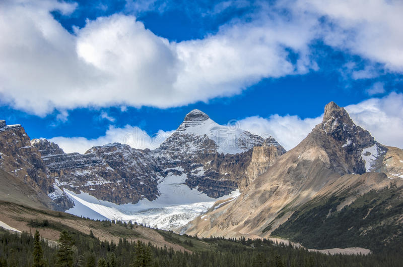 Rocky Mountain Glacier royalty free stock photography