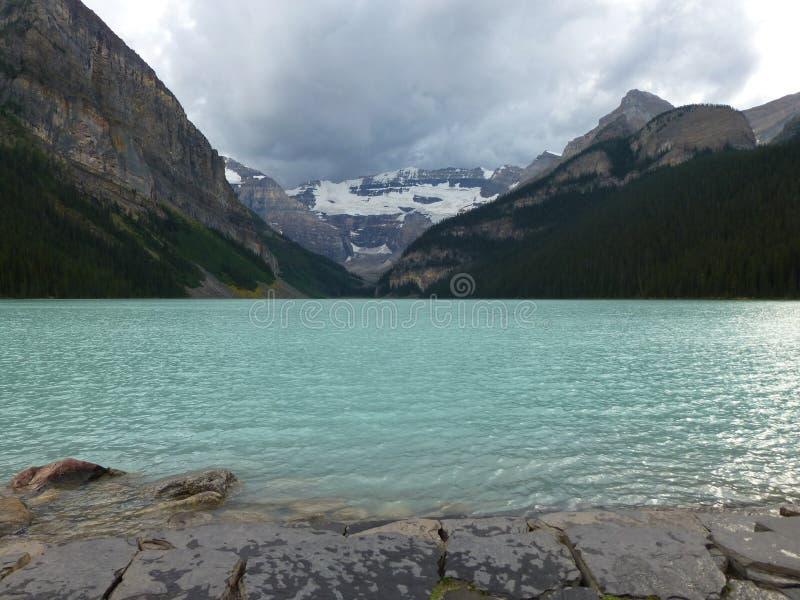 Rocky Mountain Icefield imagen de archivo