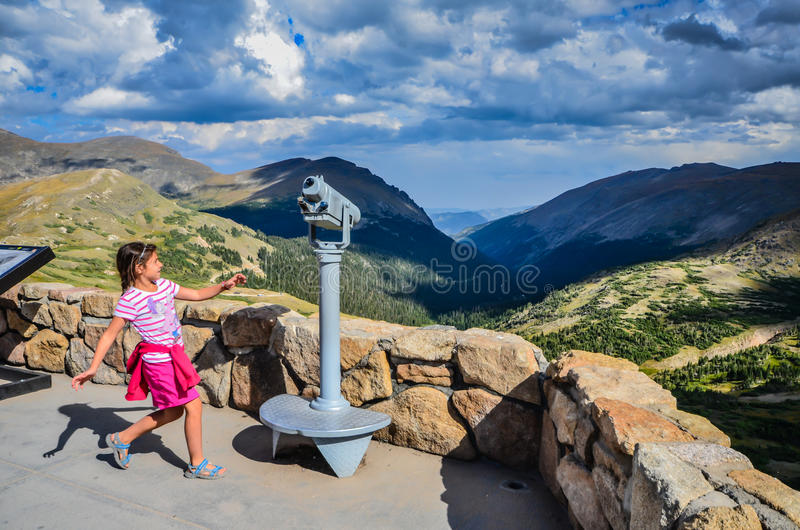 Rocky Mountain Joy - Alpine Visitor Center - Rocky Mountain National Park royalty free stock photography