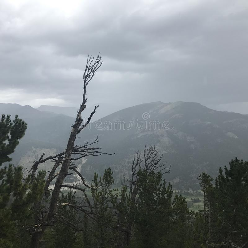 Rocky Mountain National Park immagini stock libere da diritti