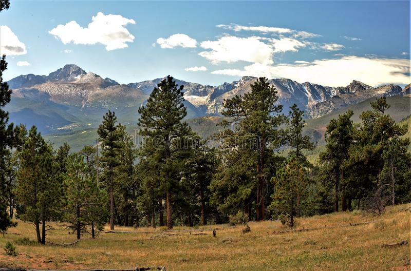 Rocky Mountain National Park-11 immagini stock libere da diritti