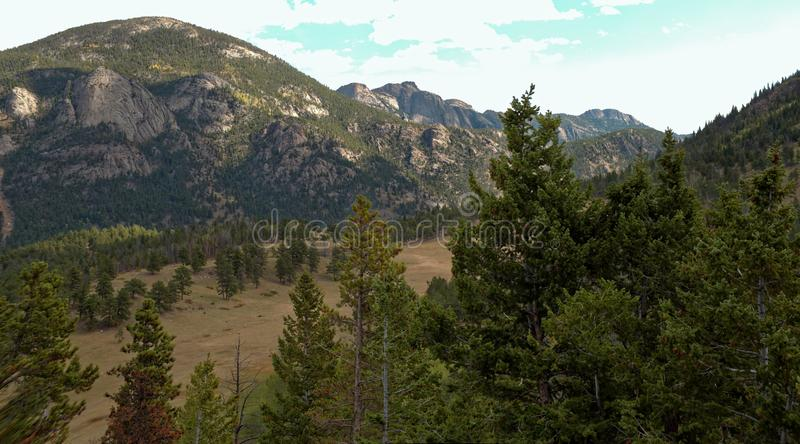 Rocky Mountain National park-3 stock afbeelding