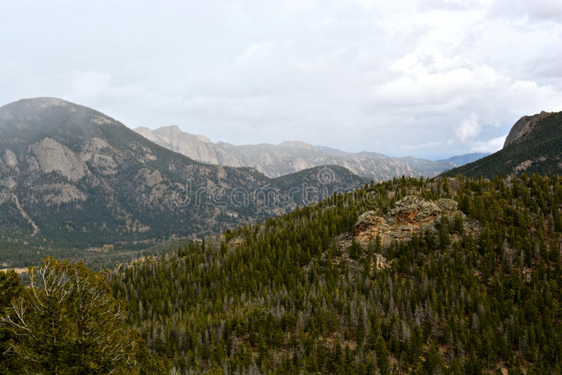 Rocky Mountain National Park fotografia stock libera da diritti