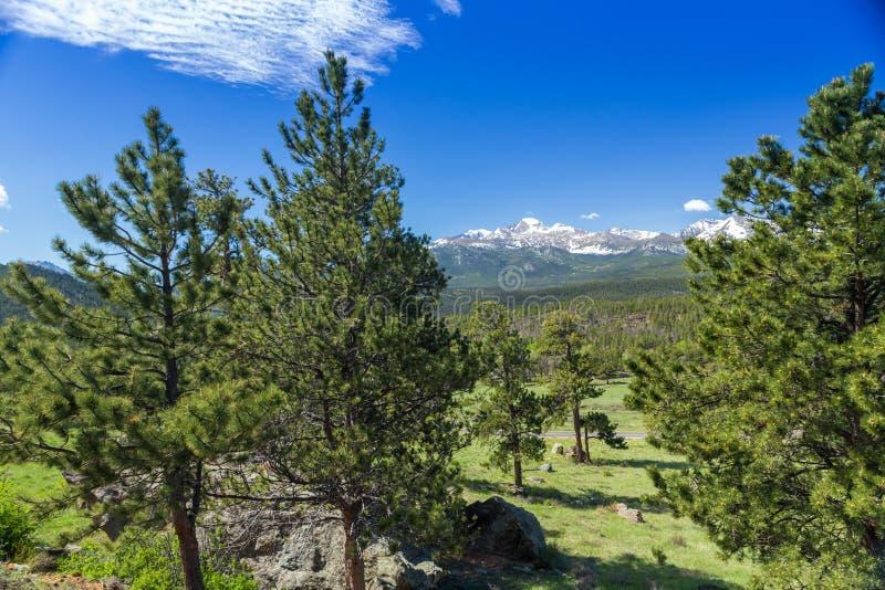 Rocky Mountain National Park stockbild