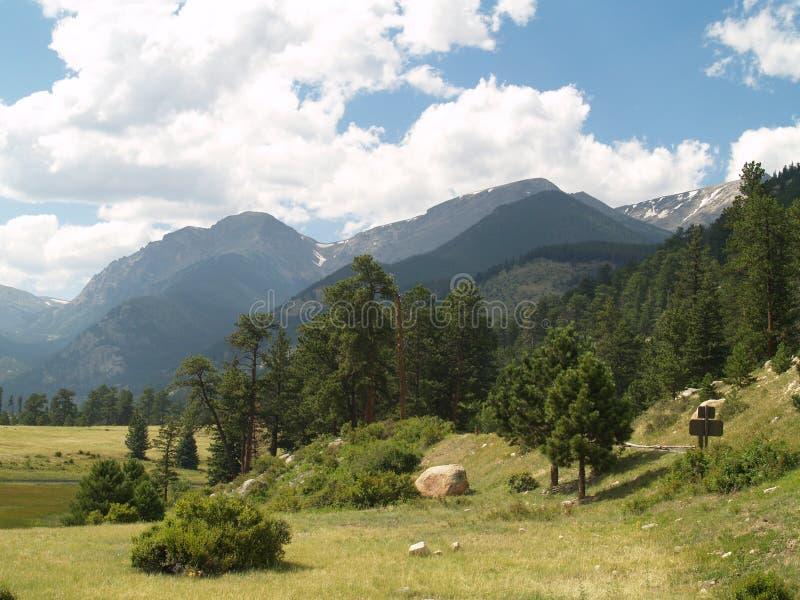 Rocky Mountain National Park royalty-vrije stock foto