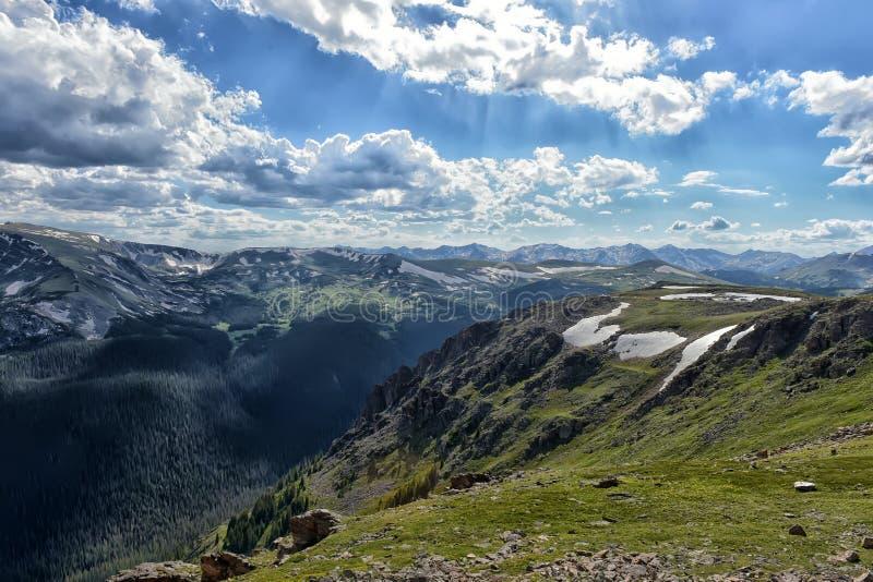 Rocky Mountain National Park lizenzfreie stockfotografie