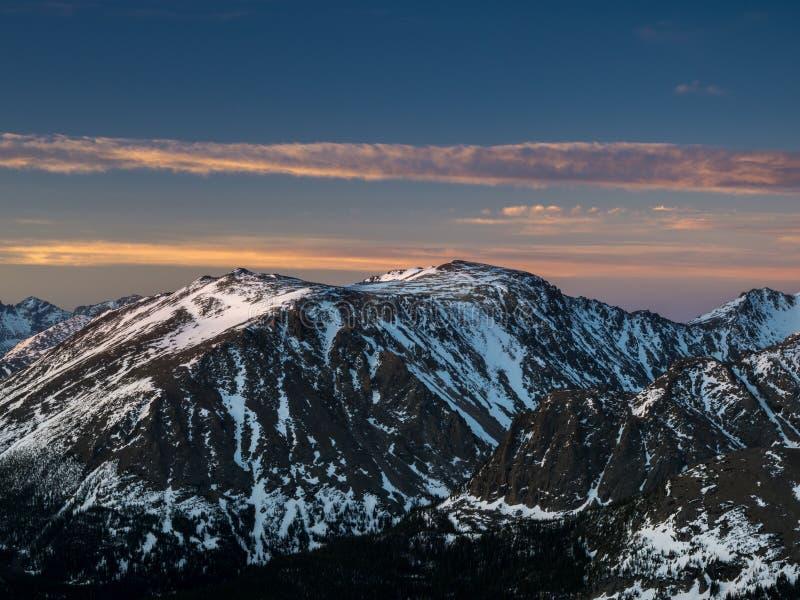 Rocky Mountain National Park photo libre de droits