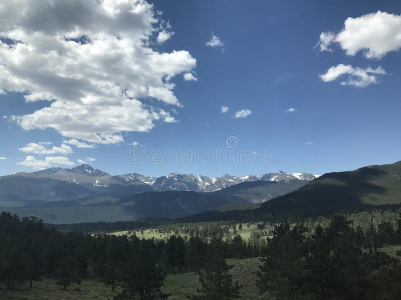 Rocky Mountain National Park stock fotografie