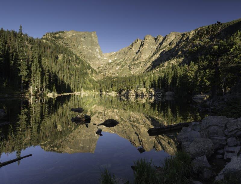 Rocky Mountain National Park dans le Colorado du nord image libre de droits