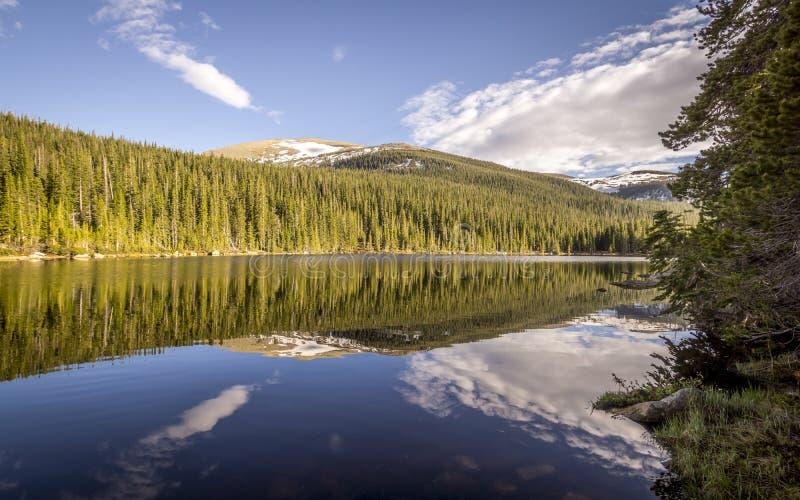 Rocky Mountain National Park Finch Lake stock photo