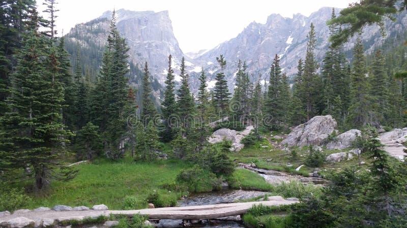 Rocky Mountain National Park stock photo