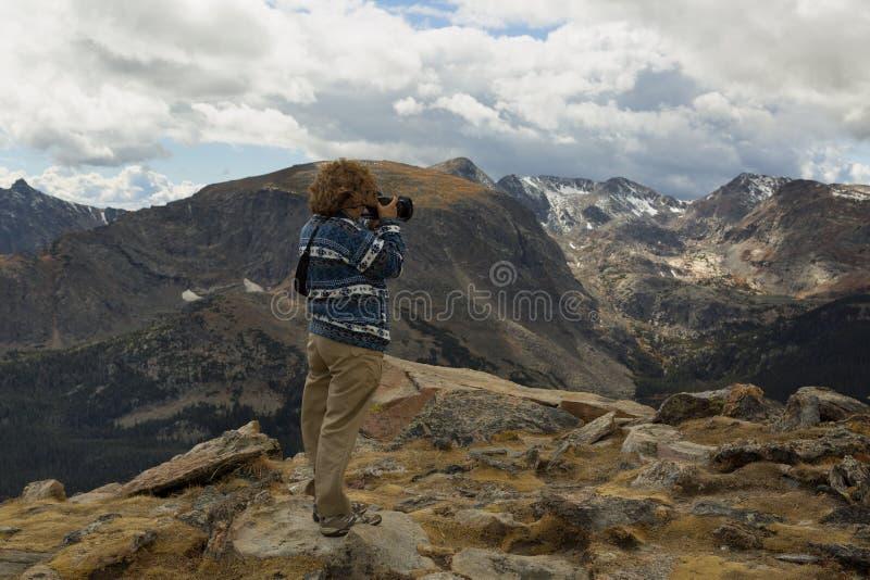 Rocky Mountain National Park Photographer foto de archivo libre de regalías