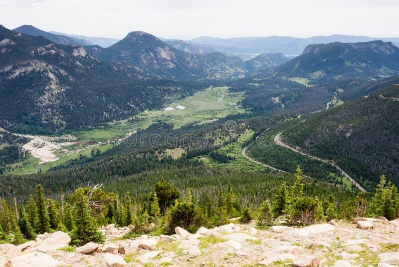 Rocky Mountain National Park, USA stock photo