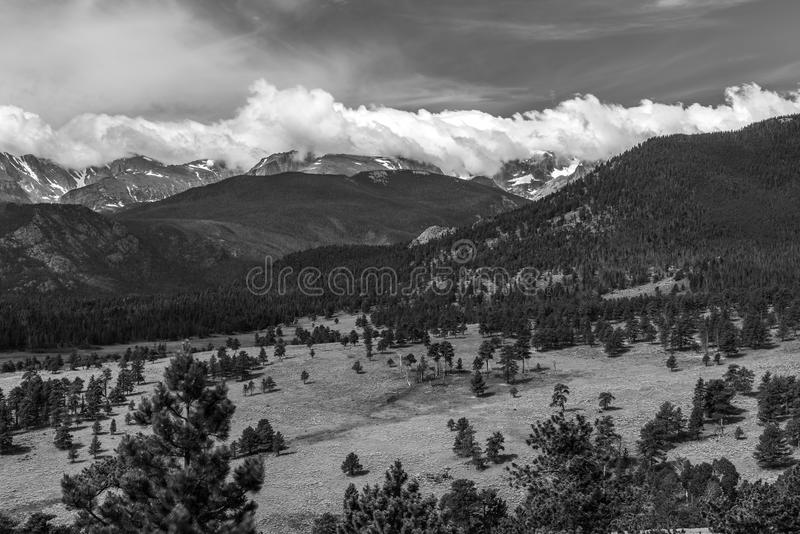 Rocky Mountain National Park. Views from Rocky Mountain National Park, Colorado royalty free stock photos