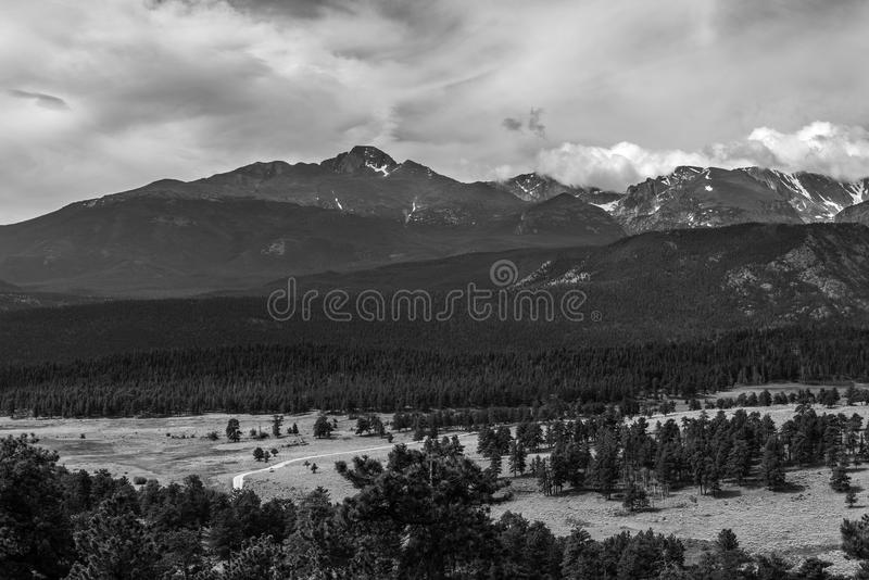 Rocky Mountain National Park. Views from Rocky Mountain National Park, Colorado royalty free stock image