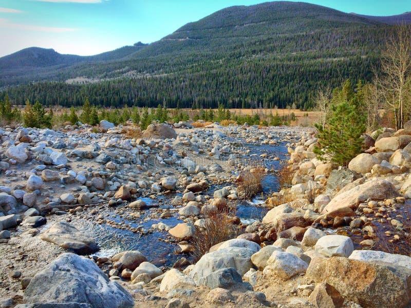 Rocky Mountain NP fotografie stock libere da diritti