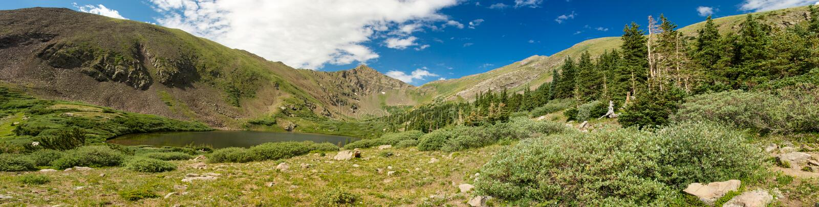 Rocky Mountain Panorama royalty free stock images